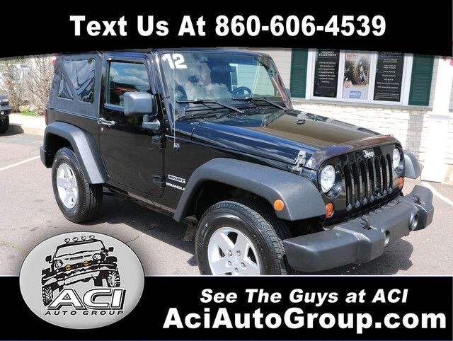 2012 Jeep Wrangler Sport East Windsor CT