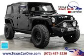 2012 Jeep Wrangler UNLIMITED RUBICON 4WD SOFT TOP CONVERTIBLE TOWING HITCH ALLOY WHEELS