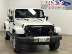 2012_Jeep_Wrangler_UNLIMITED SAHARA 4WD AUTOMATIC HARD TOP CONVERTIBLE NAVIGATION LEATHER_ Carrollton TX