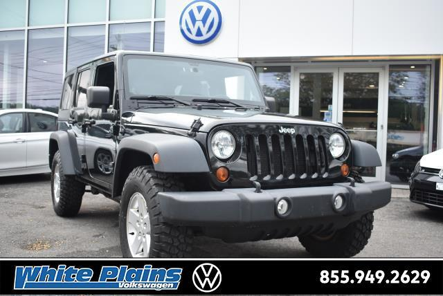 2012 Jeep Wrangler Unlimited 4WD 4dr Sport White Plains NY