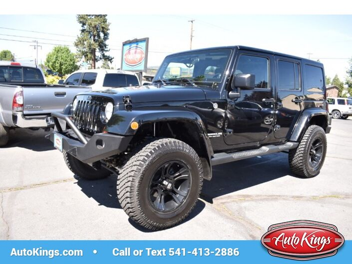 2012 Jeep Wrangler Unlimited 4WD Sahara Bend OR