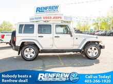 2012_Jeep_Wrangler Unlimited_4WD Sahara, Nav, Heated Seats, Bluetooth, A/C, Remote Start, SiriusXM_ Calgary AB