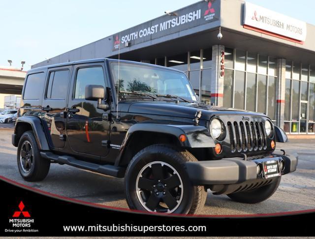 2012 Jeep Wrangler Unlimited Altitude Costa Mesa CA