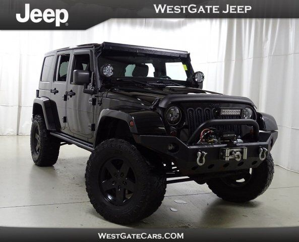 2012 Jeep Wrangler Unlimited Call of Duty MW3 Raleigh NC