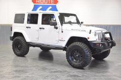 2012_Jeep_Wrangler Unlimited_RUBICON 4WD LEATHER LOADED! NAV! LEDS! ONE OWNER!_ Norman OK