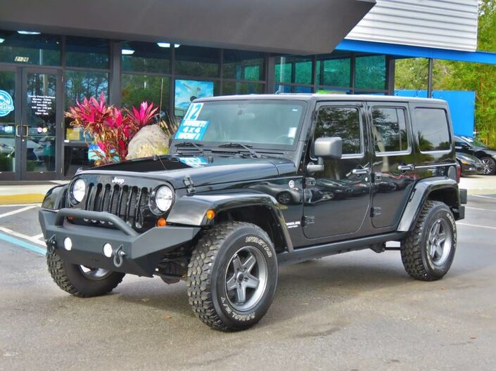 2012 Jeep Wrangler Unlimited Rubicon Jacksonville FL