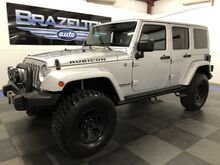 2012_Jeep_Wrangler Unlimited_Rubicon, Leather, AEV Bumpers, Warn Winch, Terra Flex 3in Lift w/ Fox 2.0 Shocks_ Houston TX