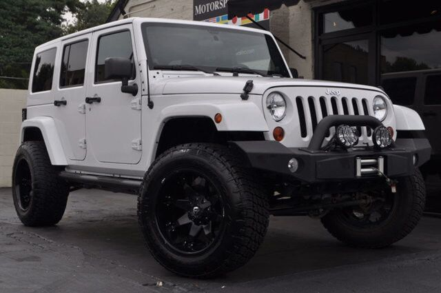 2012 Jeep Wrangler Unlimited Rubicon Leather/Heated Seats/Nav/6Spd/Winch Nashville TN