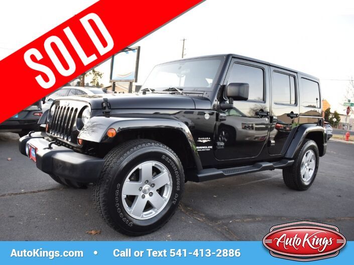 2012 Jeep Wrangler Unlimited Sahara 4WD Bend OR