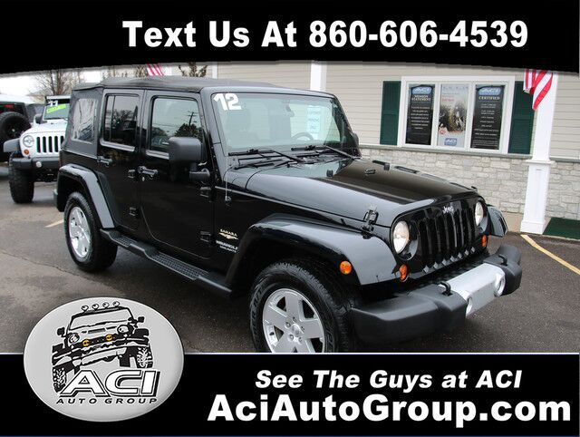 2012 Jeep Wrangler Unlimited Sahara East Windsor CT