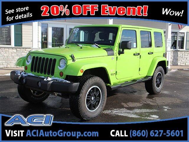2012 Jeep Wrangler Unlimited Sahara East Windsor CT