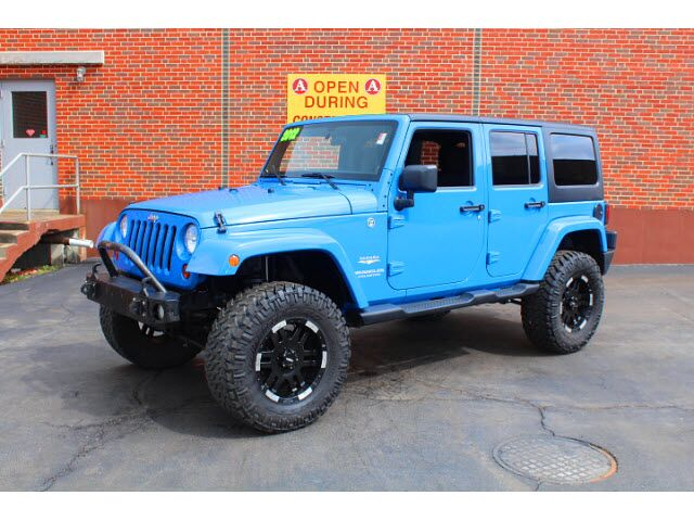 2012 Jeep Wrangler Unlimited Sahara Merriam KS