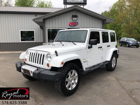 2012 Jeep Wrangler Unlimited Sahara Middlebury IN