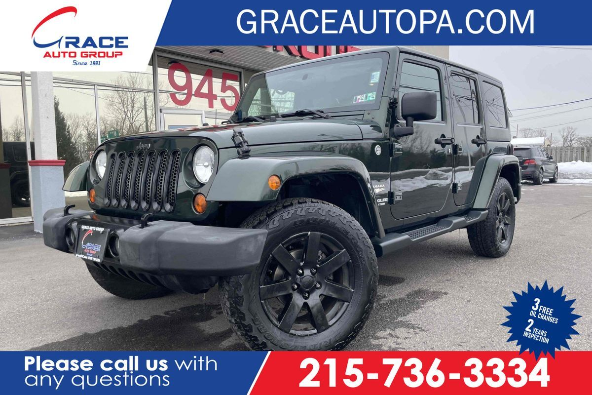 2012 Jeep Wrangler Unlimited Sahara Morrisville PA