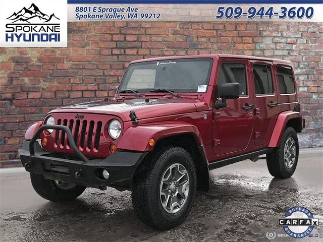 2012 Jeep Wrangler Unlimited Sahara Spokane Valley WA