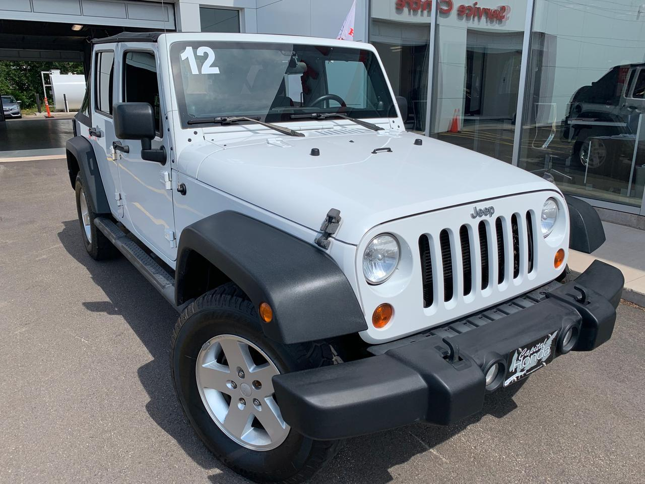 2012 Jeep Wrangler Unlimited Sport Charlottetown PE