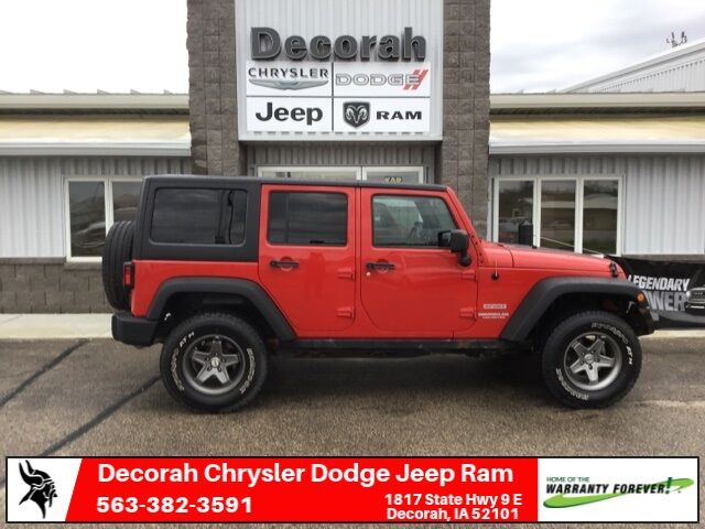 2012 Jeep Wrangler Unlimited Sport Decorah IA