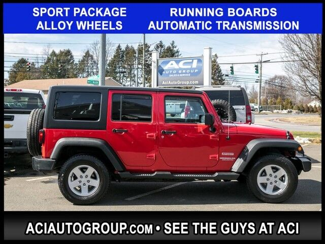 2012 Jeep Wrangler Unlimited Sport East Windsor CT
