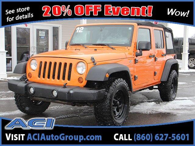 2012 Jeep Wrangler Unlimited Sport East Windsor CT