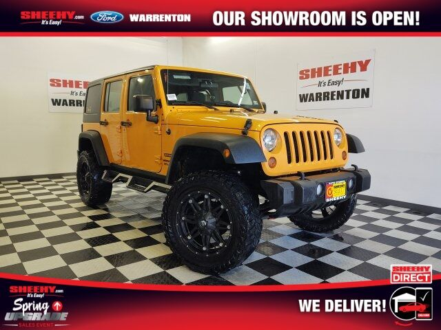 2012 Jeep Wrangler Unlimited Sport Warrenton VA