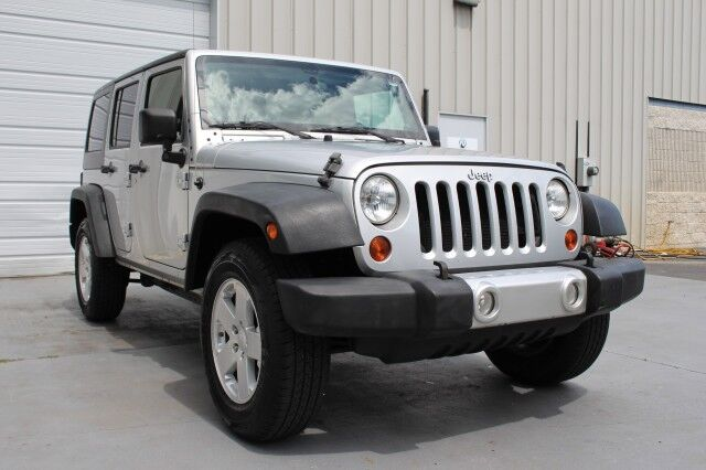 2012 Jeep Wrangler Unlimited Sport V6 4x4 Hard Top 6 speed Manual 4 Door Knoxville TN