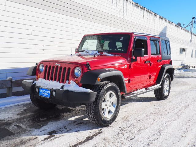 2012 Jeep Wrangler Unlimited Sport Portsmouth NH