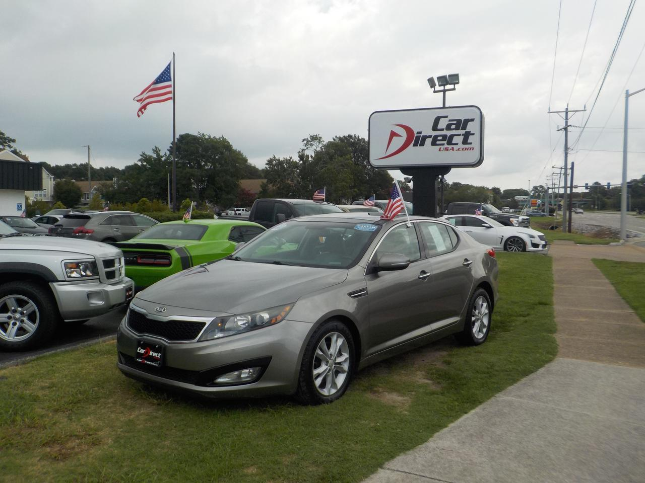 2012 KIA OPTIMA EX, HEATED & COOLED SEATING, BLUETOOTH WIRELESS, BACKUP CAMERA, PARKING SENSORS, PANORAMIC ROOF!