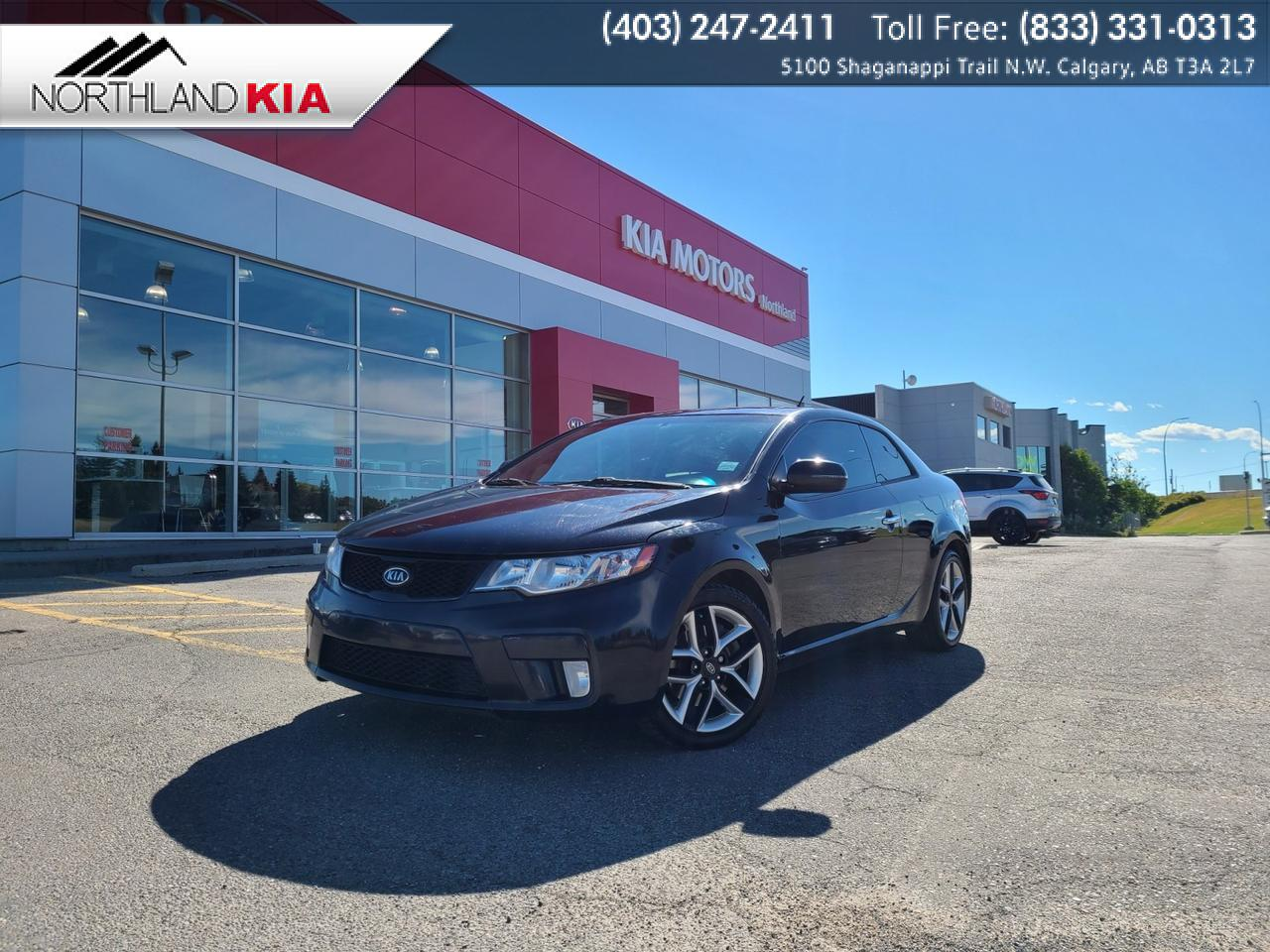 2012 Kia Forte Koup SX 6-SPEED MANUAL, HEATED SEATS, SUNROOF Calgary AB