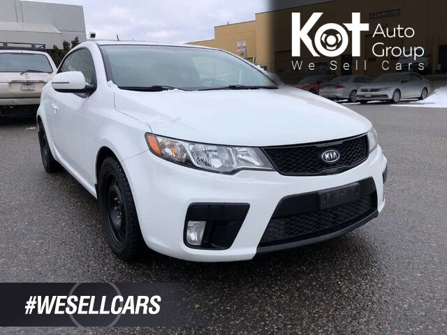 2012 Kia Forte Koup SX, *NEW ENGINE*, +2nd Set of Tires, Heated Leather Seats, Sunroof, Air Conditioning. Kelowna BC