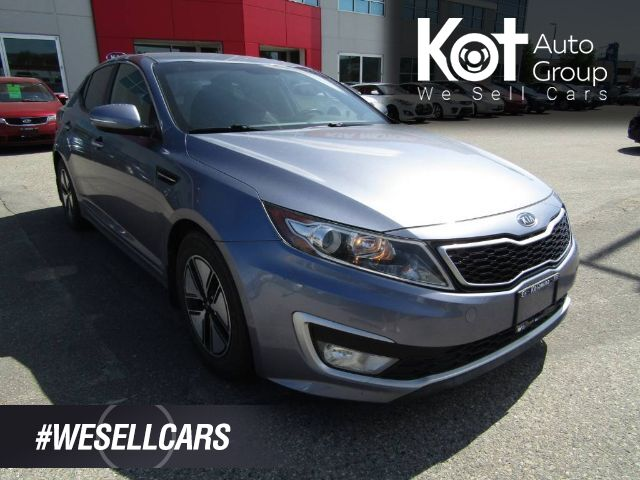 2012 Kia OPTIMA HYBRID! LEATHER! NO ACCIDENTS! FULL INSPECTED! SAVE HUGE ON GAS! CLEAN UNIT! Kelowna BC