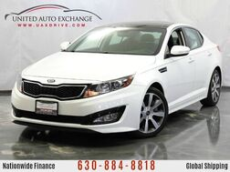 2012_Kia_Optima_SX w/ Sunroof, Bluetooth Connectivity, Push Start Button, Rear V_ Addison IL