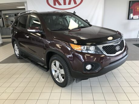 2012_Kia_Sorento_EX Lux AWD V6 5 SEATER *NAVIGATION/LEATHER HEATED SEATS/BACK UP SENSOR/BLUETOOTH*_ Edmonton AB