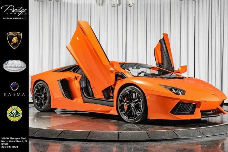 2012_Lamborghini_Aventador CPO Remaining__ North Miami Beach FL