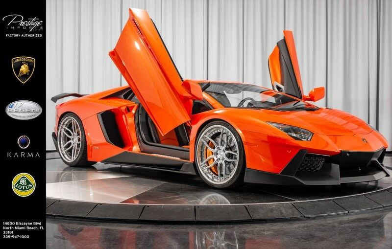2012_Lamborghini_Aventador_Coupe_ North Miami Beach FL