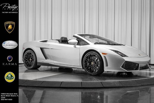 2012 Lamborghini Gallardo  North Miami Beach FL
