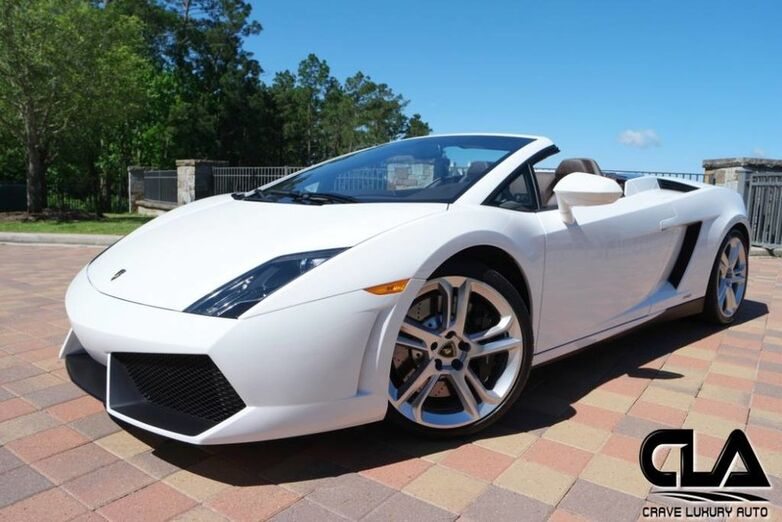 2012 Lamborghini Gallardo Spyder  The Woodlands TX