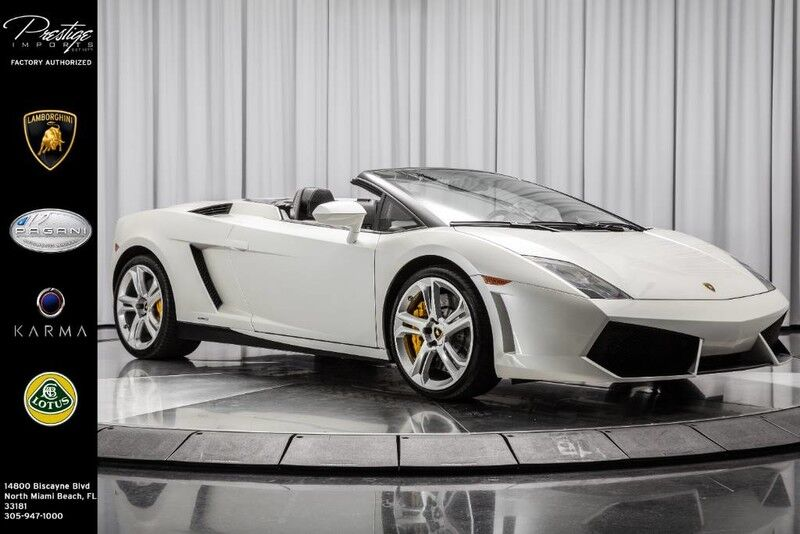 2012_Lamborghini_Gallardo_Spyder_ North Miami Beach FL