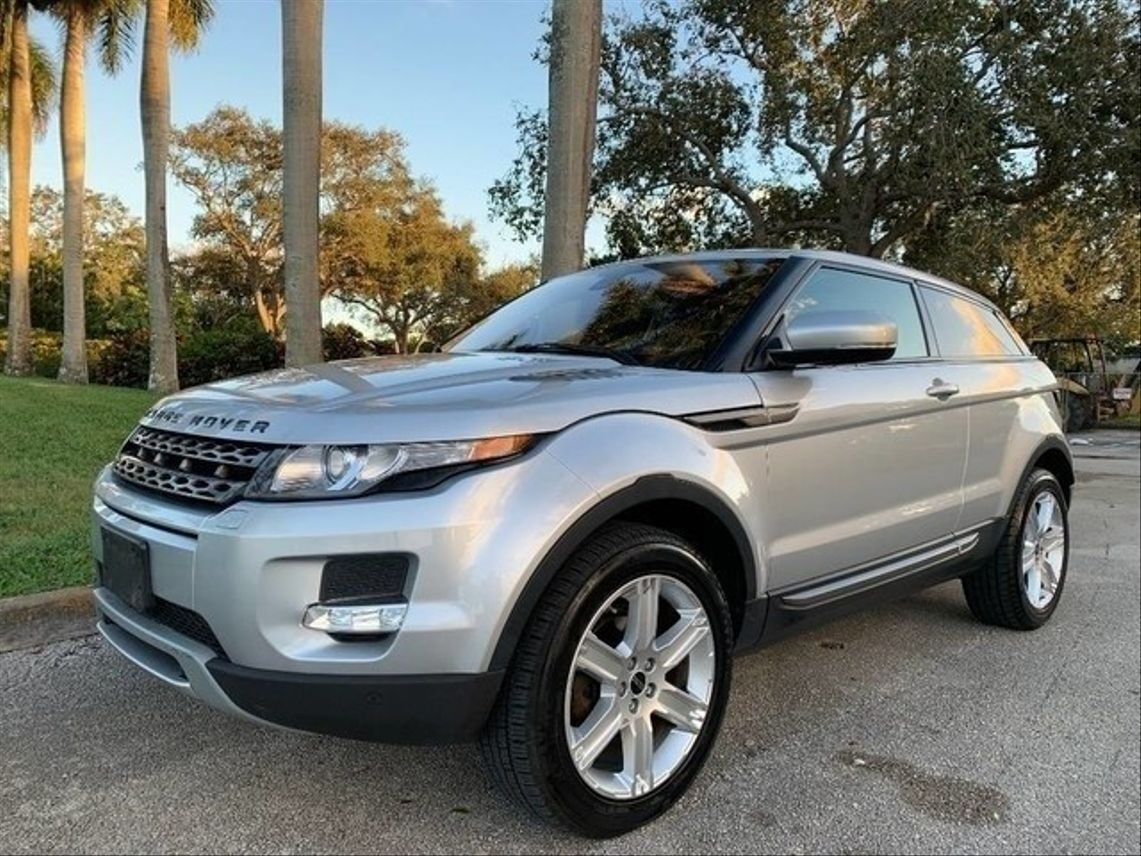 2012 Land Rover Range Rover Evoque Coupe Pure Sport Utility 2D Hollywood FL