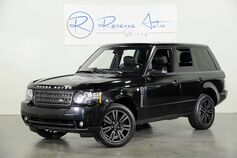 2012 Land Rover Range Rover HSE LUX Blind Spot Monitor