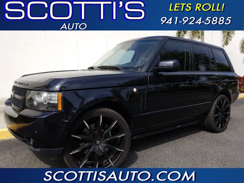 2012 Land Rover Range Rover HSE~ONLY 55K MILES~ CUSTOM WHEELS~ GREAT COLOR~ FINANCE AVAILABLE! CONTACT US TODAY! Sarasota FL