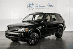 2012 Land Rover Range Rover Sport HSE Luxury Black-Out Pkg