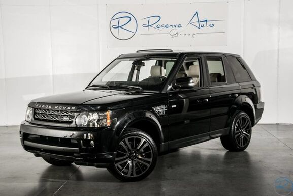 2012_Land Rover_Range Rover Sport_HSE Luxury Black-Out Pkg_ The Colony TX