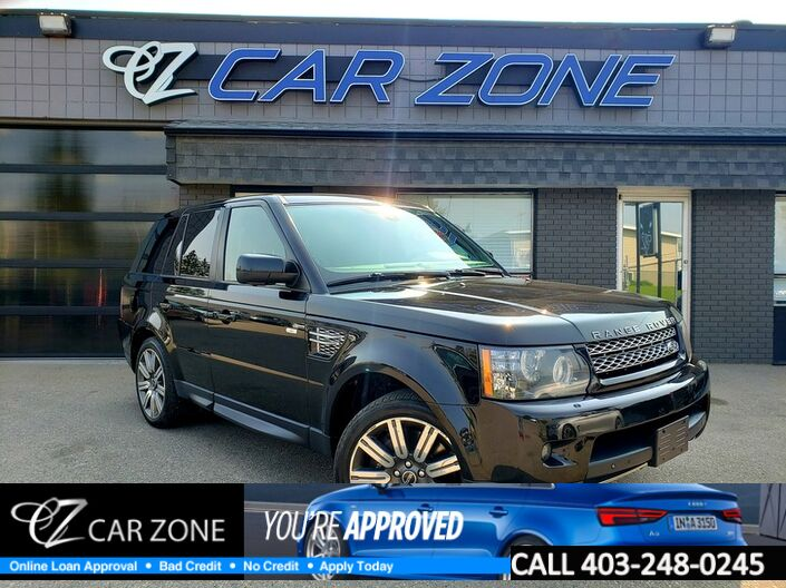 2012 Land Rover Range Rover Sport SC DUAL DVDS, EASY LOANS Calgary AB