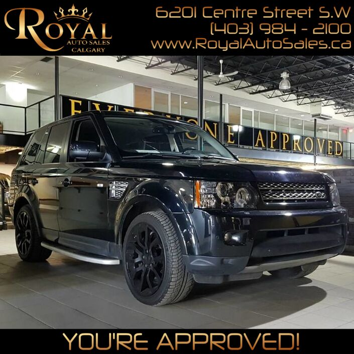 2012 Land Rover Range Rover Sport Super Charged Calgary AB