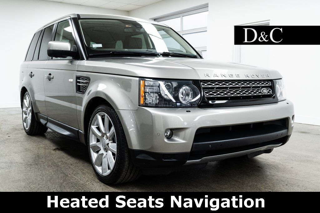 2012 Land Rover Range Rover Sport Supercharged Heated Seats Navigation Portland OR