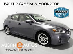 2012_Lexus_CT 200h Premium_*BACKUP-CAMERA, HEATED SEATS, MOONROOF, ALLOY WHEELS, BLUETOOTH PHONE & AUDIO_ Round Rock TX