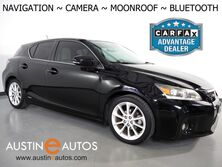 Lexus CT 200h Premium *NAVIGATION, BACKUP-CAMERA, MOONROOF, HEATED SEATS, PUSH BUTTON START, STEERING WHEEL CONTROLS, ALLOY WHEELS, BLUETOOTH PHONE & AUDIO 2012