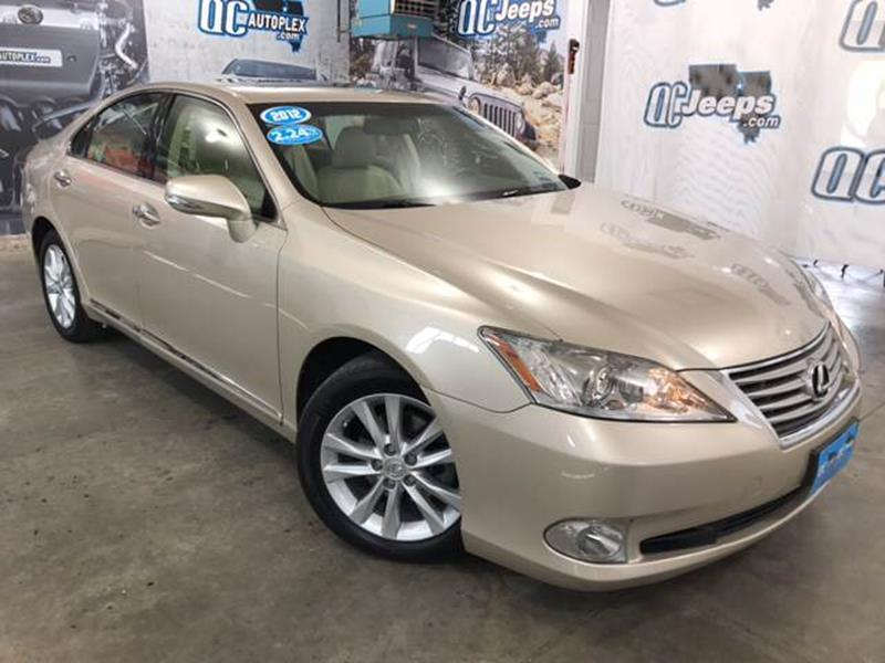 2012 Lexus ES 350 Base 4dr Sedan