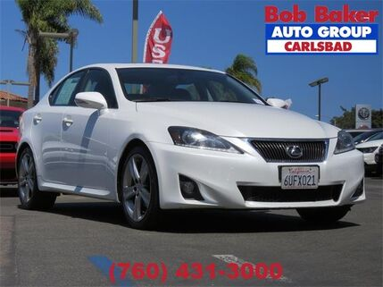 2012_Lexus_IS 250__ Carlsbad CA