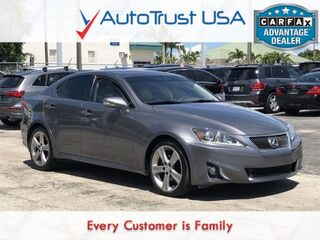 Lexus IS 250 250 LEATHER SUNROOF HEAT/COOL SEAT POWER SEATS 2012